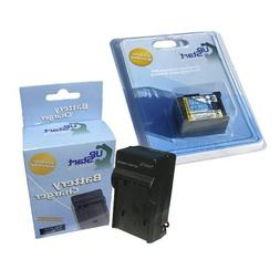 Canon BP-808 Digital Camcorder Batteries and Charger Replace
