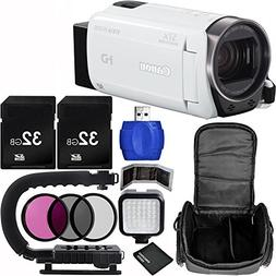 Canon VIXIA HF R700 Full HD Camcorder  Bundle with Carrying