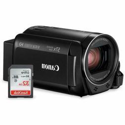 Canon Vixia HF R800 HD Camcorder  Bundle W/ 32GB SD Card, Ca
