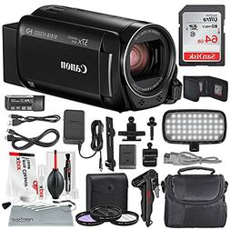 Canon Vixia HF R800 HD Camcorder  Deluxe Bundle W/Camcorder