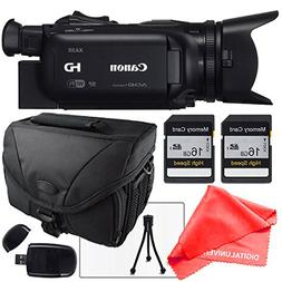 Canon XA25 Professional HD Camcorder with Camcorder case, Tw