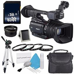 Canon XF200 HD Camcorder  + 58mm 2x Telephoto Lens + 58mm Ma