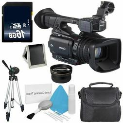 Canon XF200 HD Camcorder  + 58mm 2x Telephoto Lens 6AVE Bund