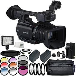 Canon XF205E HD Camcorder  12PC Accessory Kit – Includes 3