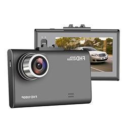 Car Camera, JVIN Dash Camera for Cars FHD 1080P Video Record