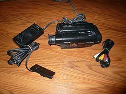 sony CCD-TR100 Hi8 NTSC stereo Camcorder play 8mm video Hi8