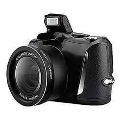 CD-R6 Digital Camera Camcorder, Full HD Video Recorder 1080p