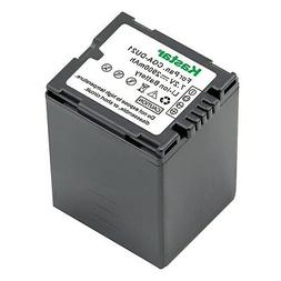 Kastar CGA-DU21 Battery for Panasonic Replacement VDR-D210 C