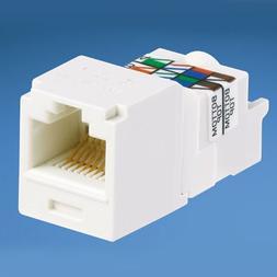 Panduit CJ688TPIW Category-6 8-Wire TP-Style Jack Module, Of