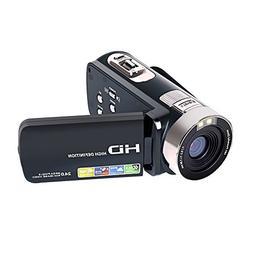 Comcorder SEREE Full HD 1080P Video Camera 16X Digital Zoom