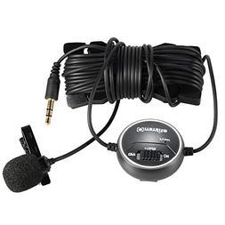 Commlite CVM-V03CP dB Adjusting Lavalier Microphone Clip-on
