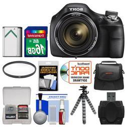 Sony Cyber-Shot DSC-H400 Digital Camera with 16GB Card + Cas