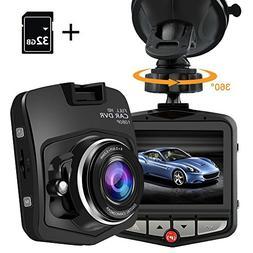 PEMENOL Dash Cam 1080P HD Dashboard Camera Recorder Car DVR