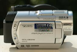 Sony DCR-DVD508 6.1MP DVD Handycam Camcorder with 10x Optica