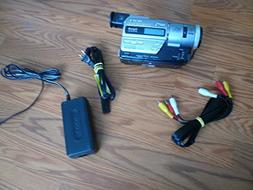 sony DCR-TR7100e pal system camcorder plays 8mm & hi8 analog