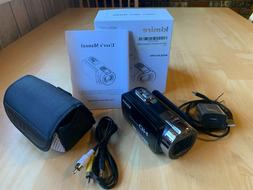 Kimire Digital Camera Camcorder HD Video Recorder 1080P 24 M