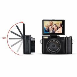 Digital Camera FHD 1080P Professional Video Camcorder Vloggi