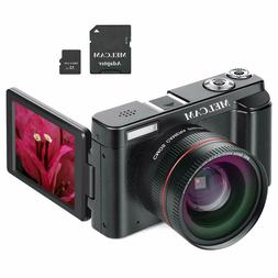 Digital Camera Video Camcorder, Full HD 1080P 24.0MP YouTube