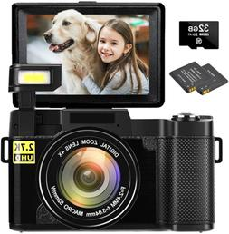 Digital Camera Vlogging Camera 30MP Full HD 1080P Digital Ca