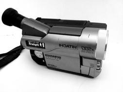 Hitachi Digital Hi 8 Camcorder Video X500 Zoom #VM-D865LA CA