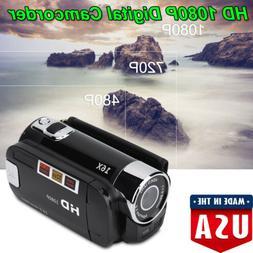 Digital Video Camcorder Full HD 1080P Handheld Camera 16MP 1