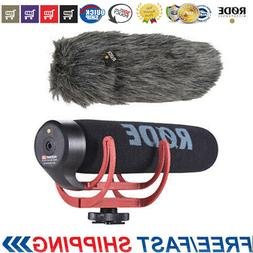 RODE Directional Microphone Shotgun Mic w/ Windshield For Ca