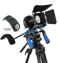 Morros DSLR Rig Set Movie Kit shoulder mount rig with Matte