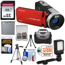 20.0-Megapixel 1080p DV50HD Fun-Flix Camcorder -DV50HD-R