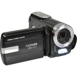 Vivitar DVR-508 HD Digital Video Camera Camcorder Black