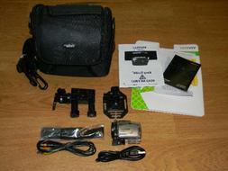 Vivitar DVR 685HD Mini Action Camcorder with Accessory Bag B