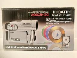 Hitachi DZ-HS300A DVD Hybrid Camcorder + 20pk Memorex DVD-R