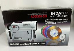 Hitachi DZ-HS300A Hybrid Video Camera/Recorder DVD & Hard Di