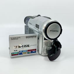 Hitachi DZ-MV380A DVD-Ram/R Recording Camcorder Working Test