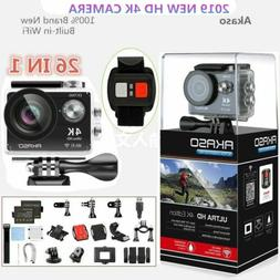 Akaso EK7000 WiFi FHD 4K Waterproof Sports Action Camera DVR
