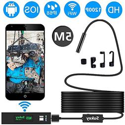 Endoscope iPhone, Sukey Wireless Endoscope Inspection Camera