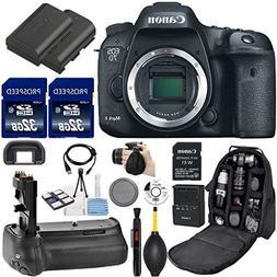Canon EOS 7D Mark II DSLR Camera . Kit Includes, W-E1 Wi-Fi