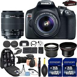 Canon EOS Rebel T6 18MP DSLR Camera with 18-55mm IS II Lens,