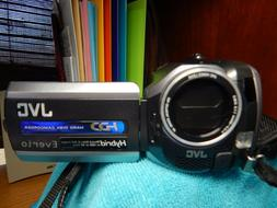 JVC Everio HARD DISC Camcorder GZ-MG 150U  30GB W/CASE $800.