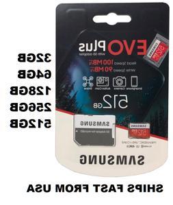 Samsung EVO+ Micro SD Card Memory Card 32GB 64GB 128GB 256GB