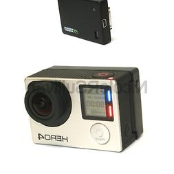 Wasabi Power Extended Battery compatible with GoPro HERO4, H