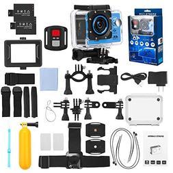 FINEC F60R Waterproof Sports Action Camera 4K 16 MP Ultra HD