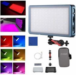 Falcon Eyes F7 Magnetic RGB LED Video Light +Softbox and Hon