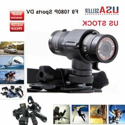 F9 FHD 1080P Bike Motorcycle Helmet Sport Camera Video Recor