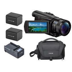 "Sony FDR-AX100 4K UHD Camcorder w/1"" Exmor R CMOS Sensor Wit"