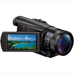 Sony FDR-AX100/B 4K Camcorder with 1-inch Sensor