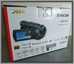 Sony FDR-AX33 4K Ultra HD Handycam Camcorder  in Retail Box