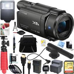 fdr ax53 b 4k handycam camcorder
