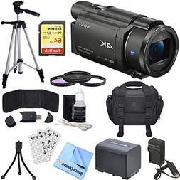 Sony FDR-AX53/B 4K Handycam Camcorder with Exmor R CMOS Sens
