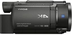 Sony FDR-AX53 UHD 4K 16.6MP Video Camera Handycam Camcorder