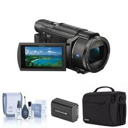 Sony FDR-AX53 4K Ultra HD Handycam Camcorder with Free Acces